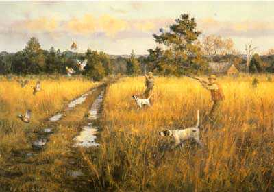 Shooting High Field by Robert Abbett Pricing Limited Edition Print image
