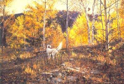 Hillside Woodcock by Robert Abbett Pricing Limited Edition Print image