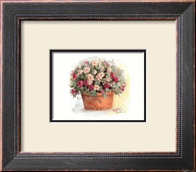 Impatiens Portrait by Peggy Abrams Pricing Limited Edition Print image