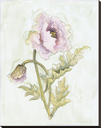 Lavender Poppy Ll by Peggy Abrams Pricing Limited Edition Print image