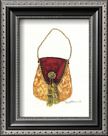 Tasseled Purse by Peggy Abrams Pricing Limited Edition Print image