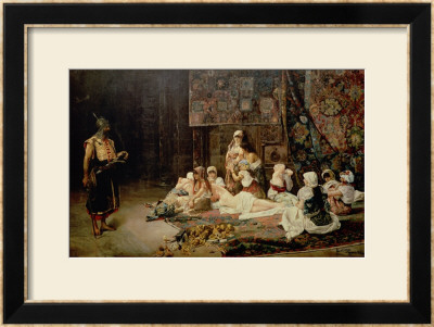 In The Harem, 1884 by Jose Gallegos Arnosa Pricing Limited Edition Print image