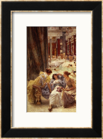 The Baths Of Caracalla by Sir Lawrence Alma-Tadema Pricing Limited Edition Print image