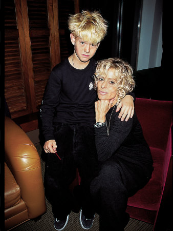 Actress Farrah Fawcett With Son Redmond O'neal by Dave Allocca Pricing Limited Edition Print image