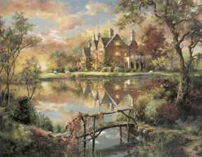 Mill Hay Manor by Marty Bell Pricing Limited Edition Print image