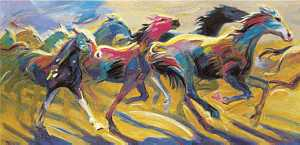 Stampede by Amy Brackenbury Pricing Limited Edition Print image