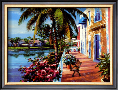 Howard Behrens Naples, Florida Art Print Value