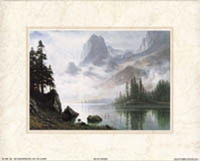 Out Of The Mist by Albert Bierstadt Pricing Limited Edition Print image