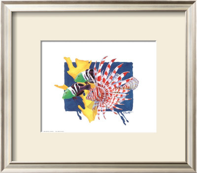 Spotfin Lionfish by Paul Brent Pricing Limited Edition Print image