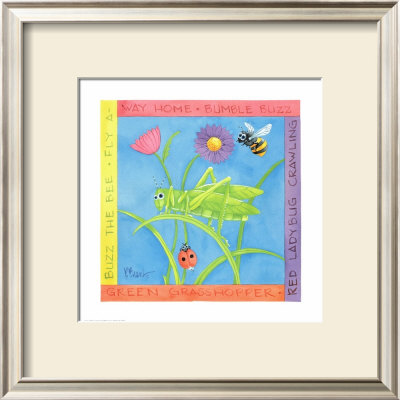 Green Grasshopper by Paul Brent Pricing Limited Edition Print image