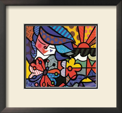 From The Britto Garden by Romero Britto Pricing Limited Edition Print image