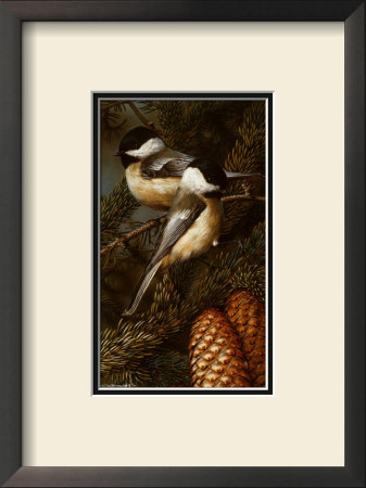 Chickadees by Carl Brenders Pricing Limited Edition Print image