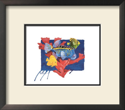 Spotted Box Fish by Paul Brent Pricing Limited Edition Print image