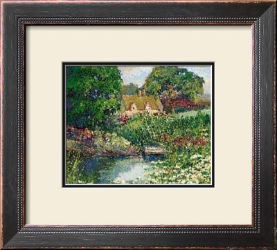 Garden Cottage by Dawna Barton Pricing Limited Edition Print image