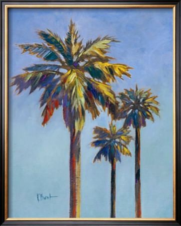 Santa Rita Palms I by Paul Brent Pricing Limited Edition Print image