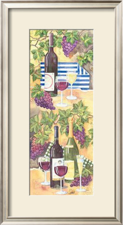 Wine Collage Ii by Paul Brent Pricing Limited Edition Print image