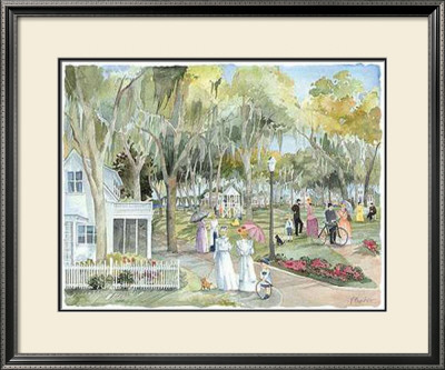 Park Promenade (Le) by Paul Brent Pricing Limited Edition Print image