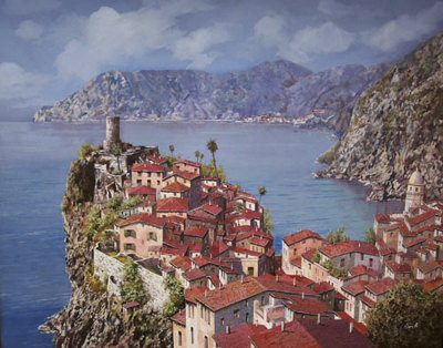 Cinque Terre by Guido Borelli Pricing Limited Edition Print image