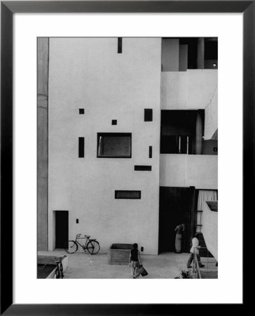 Punjab High Court Building, Designed By Le Corbusier by James Burke Pricing Limited Edition Print image