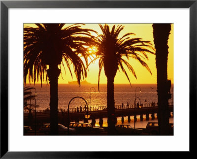 St Kilda Pier At Sunset, Melbourne, Australia by John Banagan Pricing Limited Edition Print image