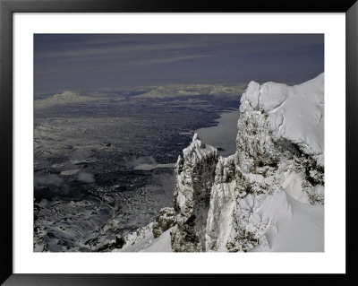 Kronotski Volcano In Russia by Michael Brown Pricing Limited Edition Print image