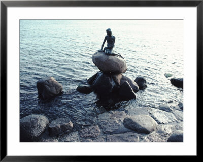 Statue Of The Little Mermaid In Copenhagen, Denmark by Ira Block Pricing Limited Edition Print image