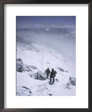 Winter Climb Of South Arapahoe Peak, Colorado by Michael Brown Pricing Limited Edition Print image