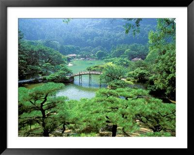 Ritsurin Park, Takamatsu, Shikoku, Japan by Dave Bartruff Pricing Limited Edition Print image