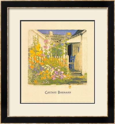 Grandma Battin's Garden by Gustave Baumann Pricing Limited Edition Print image