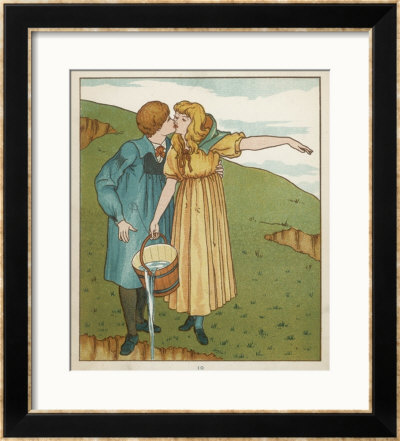Jack And Jill Are Head Over Heels In Love by Edward Hamilton Bell Pricing Limited Edition Print image