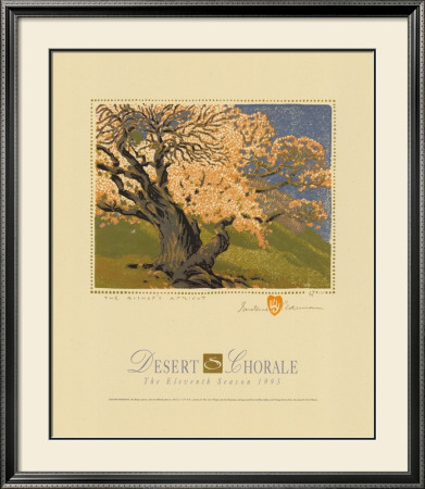 The Bishop's Apricot Tree by Gustave Baumann Pricing Limited Edition Print image