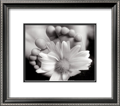 Baby's Feet With Blossom by Peter Barrett Pricing Limited Edition Print image
