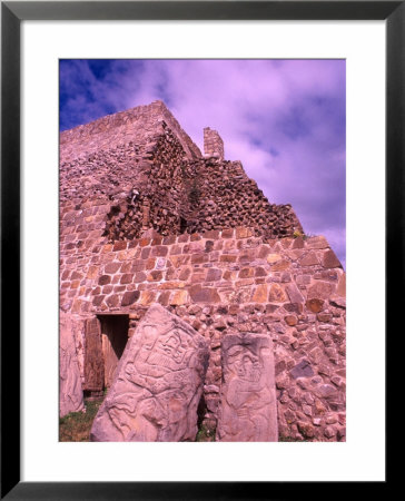Ruins Of Monte Alban, Oaxaca, Mexico by Bill Bachmann Pricing Limited Edition Print image