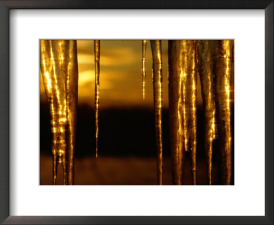 Icicles by James P. Blair Pricing Limited Edition Print image
