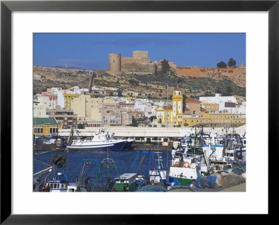 Port And Alcazaba, Almeria, Andalucia, Spain by Charles Bowman Pricing Limited Edition Print image