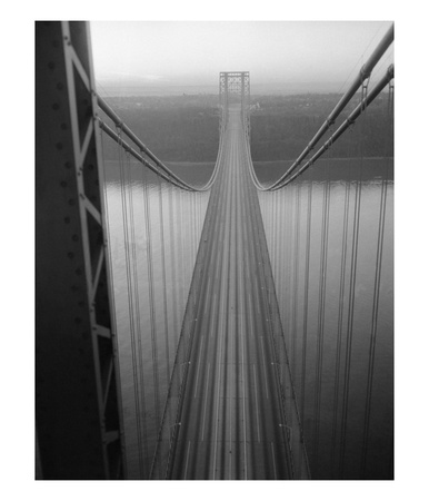 The George Washington Bridge by Bettmann Pricing Limited Edition Print image