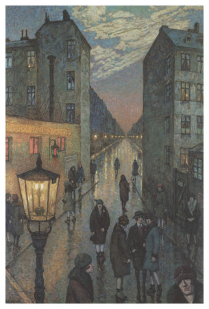 City Corner by Hans Baluschek Pricing Limited Edition Print image