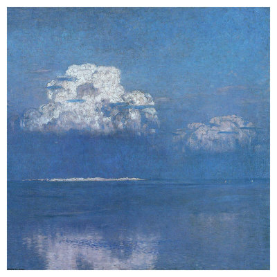 Calm Sea Near The Dunes Of Lyste by Eugen Bracht Pricing Limited Edition Print image