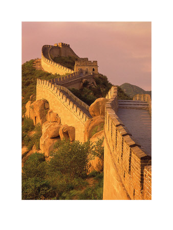 Great Wall, Badaling, China by Daryl Benson Pricing Limited Edition Print image