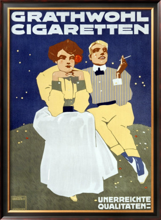 Grathwohl Cigaretten by Ercole Brini Pricing Limited Edition Print image