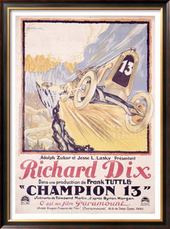 Richard Dix Champion 13 by Brantome Pricing Limited Edition Print image