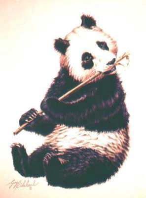 Giant Panda by Guy Coheleach Pricing Limited Edition Print image