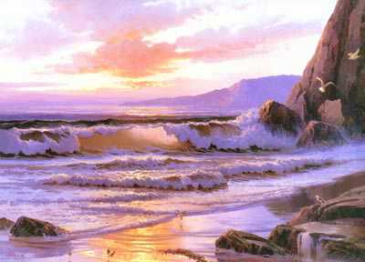 Sunset Cove by Beverly Carrick Pricing Limited Edition Print image