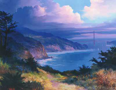 View From Fort by Beverly Carrick Pricing Limited Edition Print image
