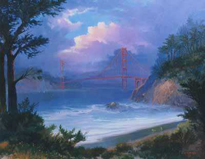 View From Presidio by Beverly Carrick Pricing Limited Edition Print image
