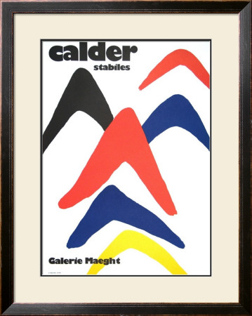 Stabiles, 1971 by Alexander Calder Pricing Limited Edition Print image