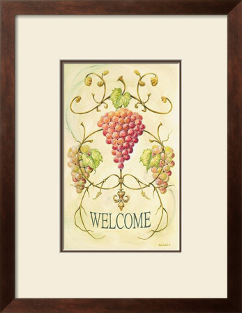 Vineyard Welcome by Deb Collins Pricing Limited Edition Print image