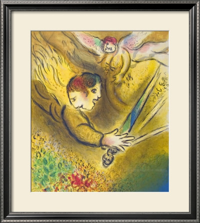 The Angel Of Judgement, 1974 by Marc Chagall Pricing Limited Edition Print image