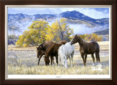 October Mist by Tim Cox Pricing Limited Edition Print image