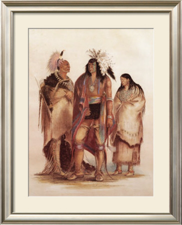 North American Indians by George Catlin Pricing Limited Edition Print image